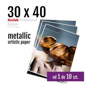 30x40 Odbitki Zdjęcia Cyfrowe Online Ametyst Metallic