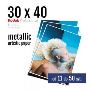 30x40 Odbitki Zdjęcia Cyfrowe Online Szafir Metallic