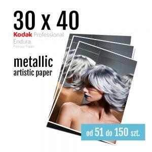 30x40 Odbitki Zdjęcia Cyfrowe Online Topaz Metallic