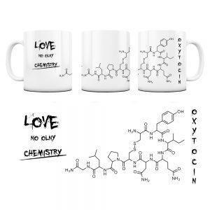 Kubek Chemia z Nadrukiem Oxytocin
