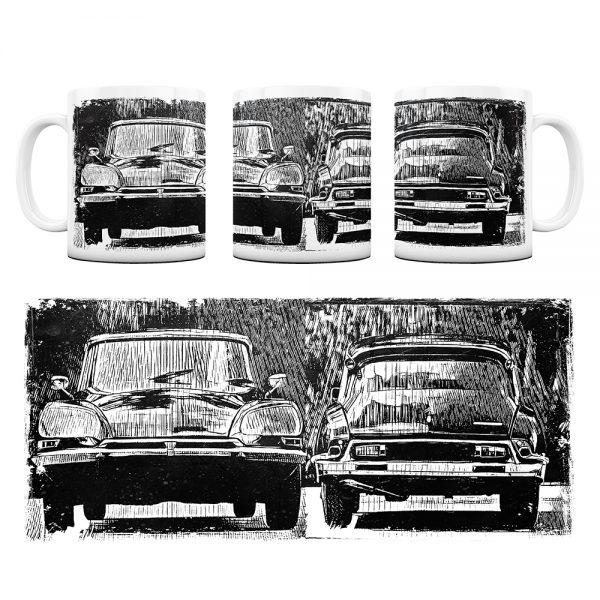 Kubek Classic Cars Citroen DS #6