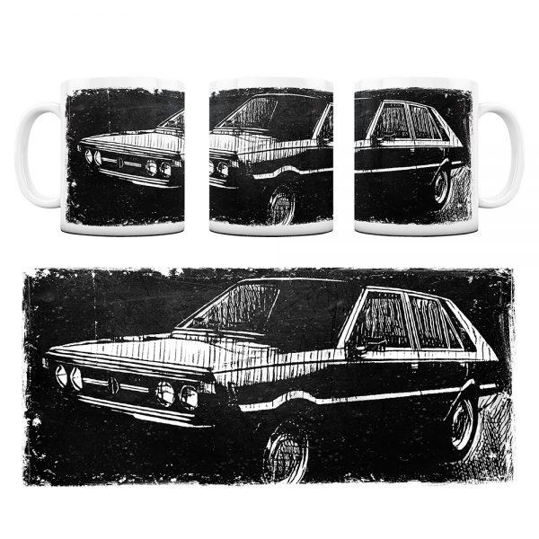 Kubek Classic Cars FSO polonez #3