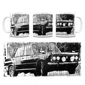 Kubek Classic Cars Fiat 125P #5