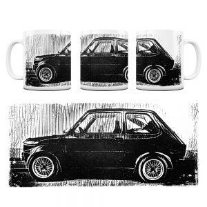 Kubek Classic Cars Fiat 126P #4