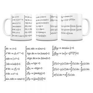 Kubek Matematyka z Nadrukiem Całki