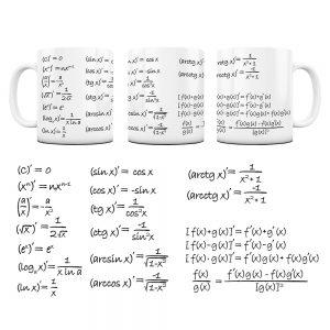 Kubek Matematyka z Nadrukiem Pochodne