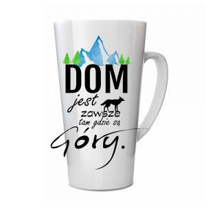 Kubek Latte DOM jest zawsze tam gdzie są Góry Lis