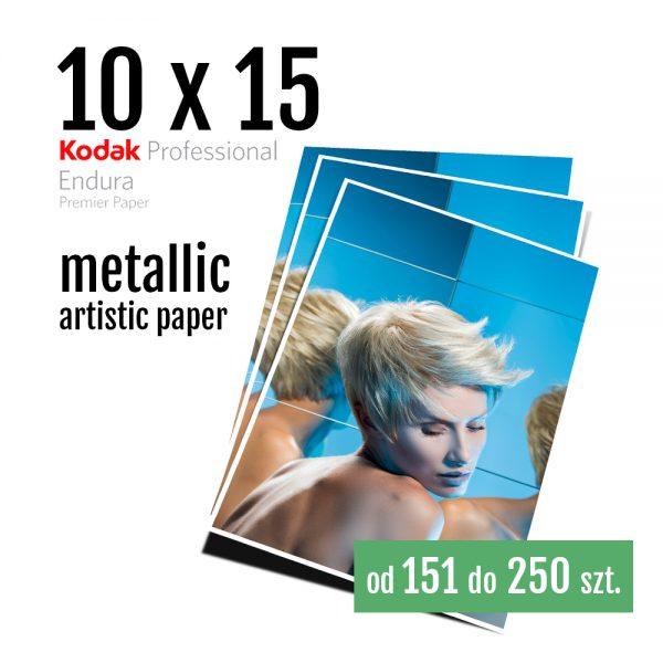 10x15 Odbitki Zdjęcia Cyfrowe Online Szmaragd Metallic