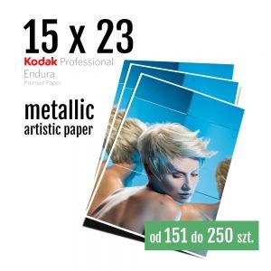 15x23 Odbitki Zdjęcia Cyfrowe Online Szmaragd Metallic