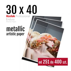 30x40 Odbitki Zdjęcia Cyfrowe Online Rubin Metallic