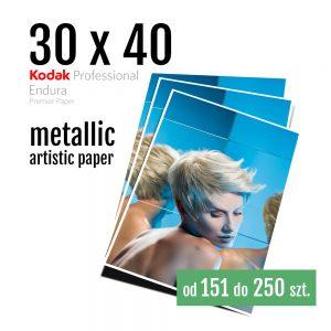 30x40 Odbitki Zdjęcia Cyfrowe Online Szmaragd Metallic