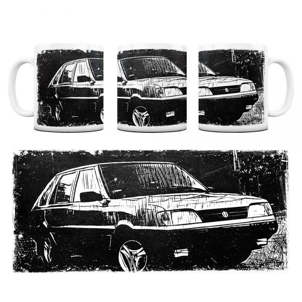 Kubek Classic Cars FSO polonez #1