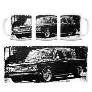 Kubek Classic Cars Fiat 125P #3