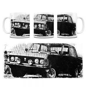 Kubek Classic Cars Fiat 125P #4