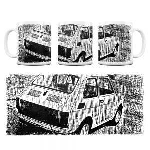 Kubek Classic Cars Fiat 126P #1