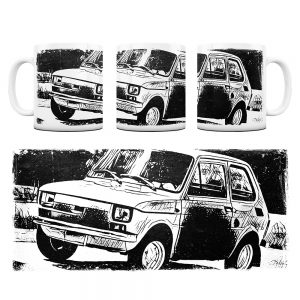 Kubek Classic Cars Fiat 126P #7