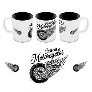 Kubek Custom Ride to Live - Motory 04