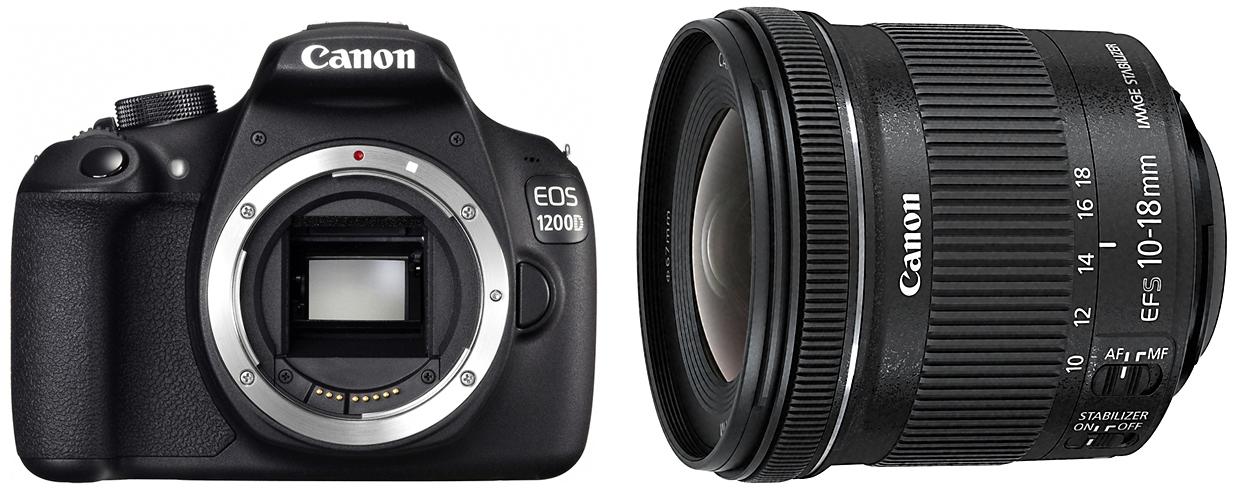 Krajobraz EOS-1200D EF-S 10-18mm