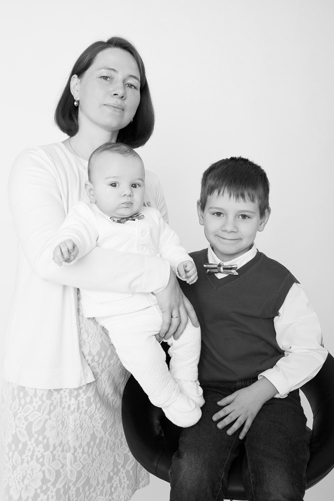 Portret Rodziny w Studiu Nasza Rodzina Fotograf Kraków (15)
