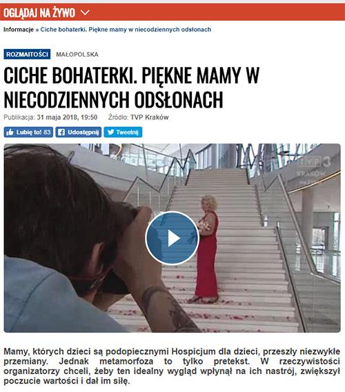 TVP 3 Kraków Pracownia Fotograficzna Micuda