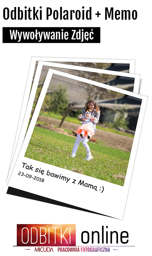 Odbitki Online Polaroid + Memo - Pracownia Fotograficzna Micuda