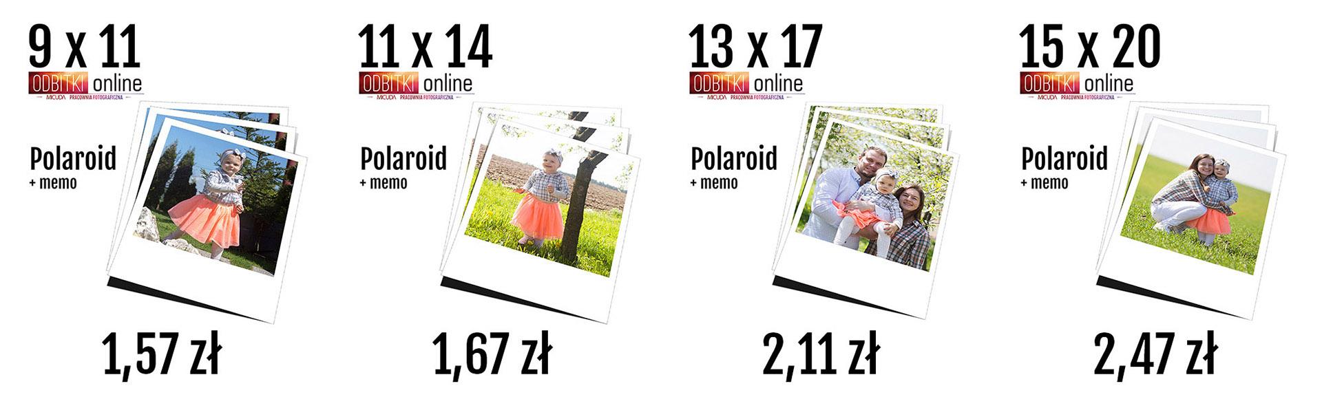 Odbitki Online Polaroid Memo - Pracownia Fotograficzna Micuda