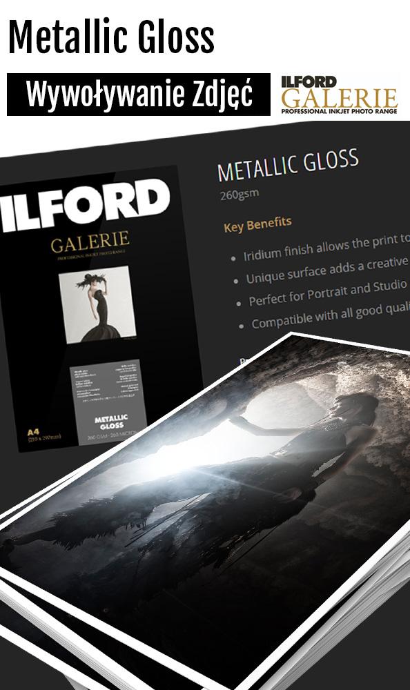 ILFORD GALERIE Metallic Gloss Wydruk Zdjęć odbitki Fotograf Micuda