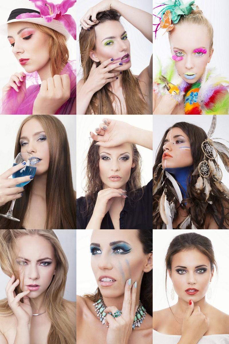 Beauty Art Szkoła Wizażu Pracownia Fotograficzna Marcin Micuda Sesje Zdjęciowe Gdańsk szkolna _4 ad